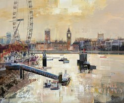 Eye Catching II by Tom Butler -  sized 36x30 inches. Available from Whitewall Galleries